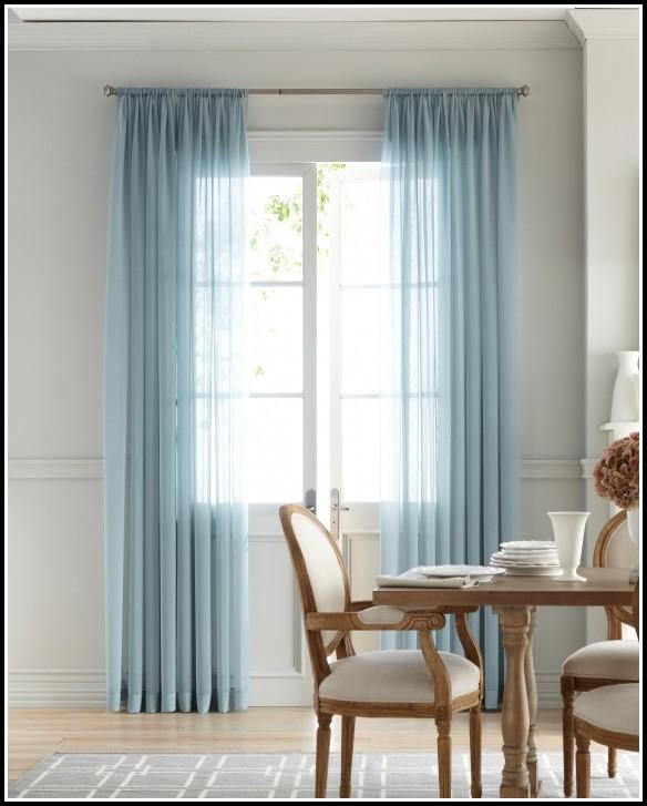 Martha Stewart White Sheer Curtains