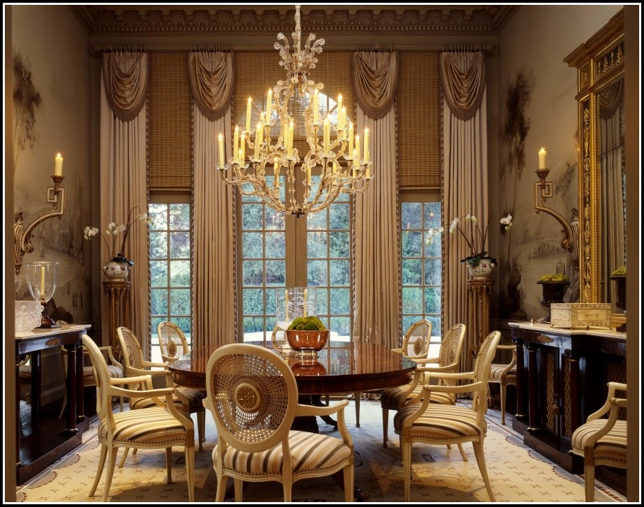 Modern Curtains For Dining Room
