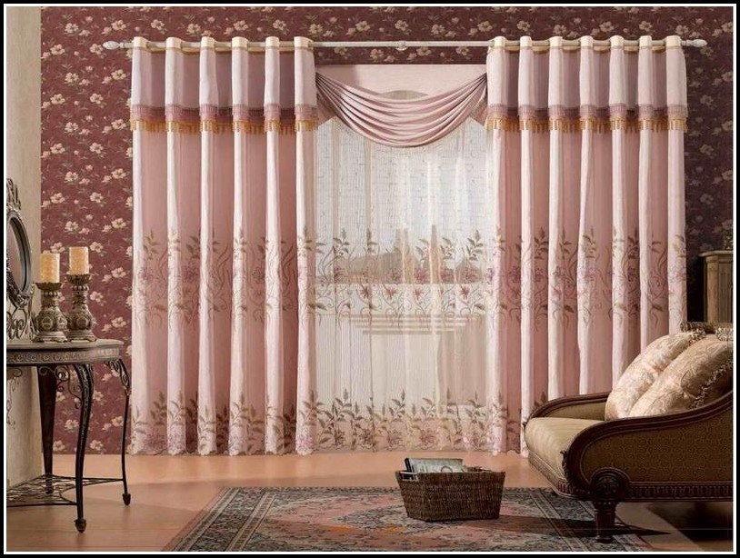 Modern Curtains For Living Room 2014