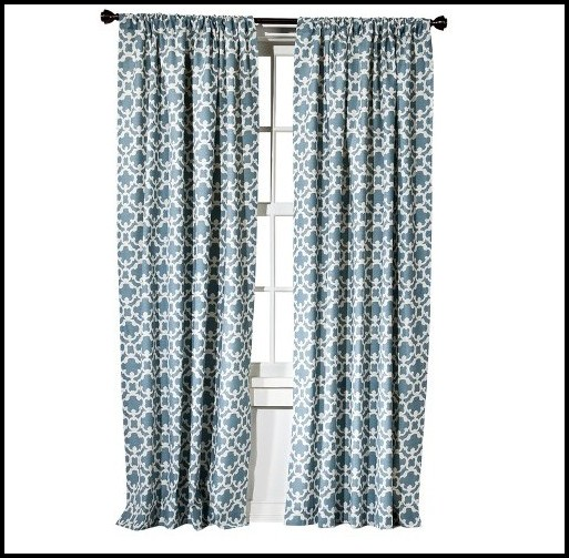 Navy And White Curtains Target