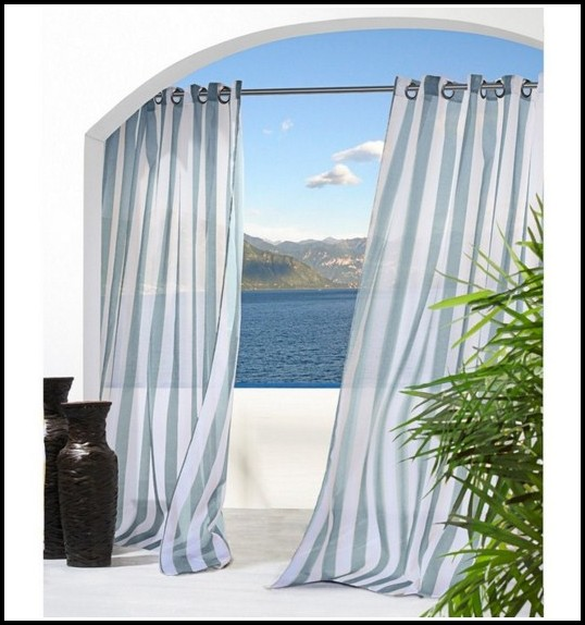 Outdoor Curtains With Grommets 108