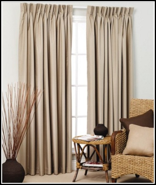Pinch Pleat Sheer Curtains Windows