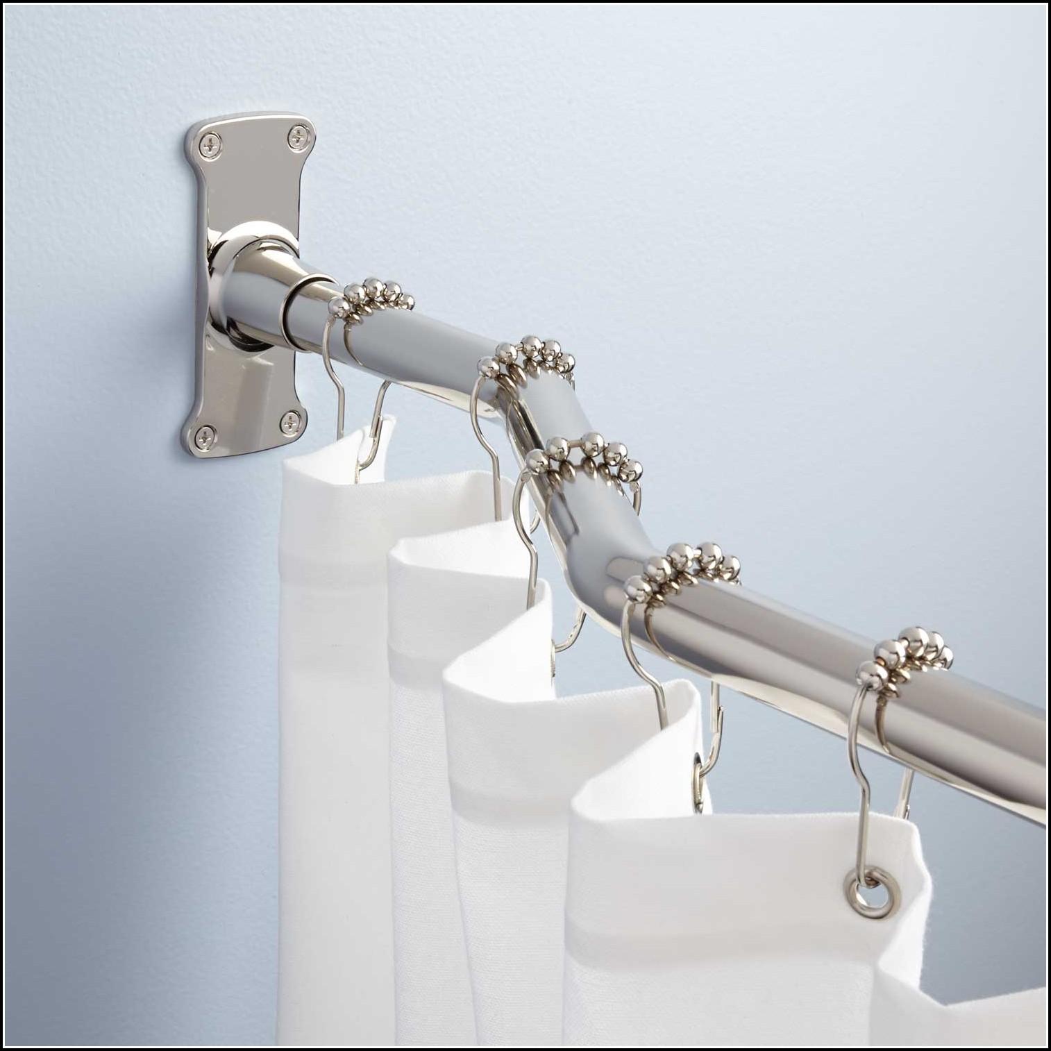 Polished Nickel Cafe Curtain Rod