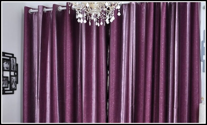 Purple And Silver Bedding And Curtains