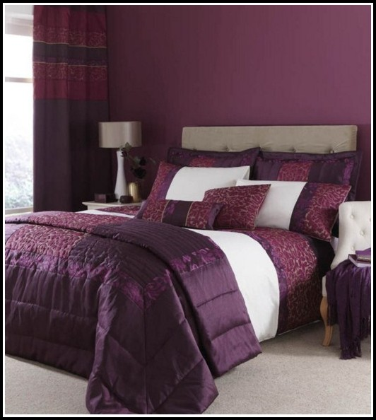 Purple And Silver Curtains Uk