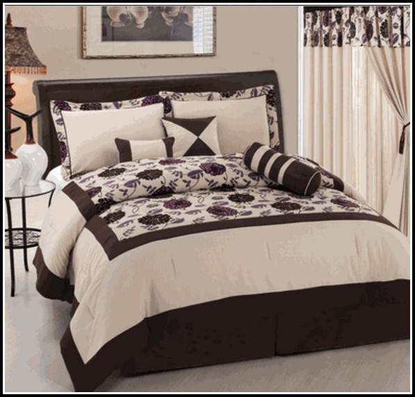 Queen Comforter Set With Curtains