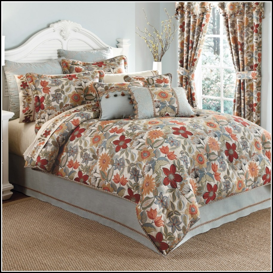 Queen Comforter Sets With Curtains