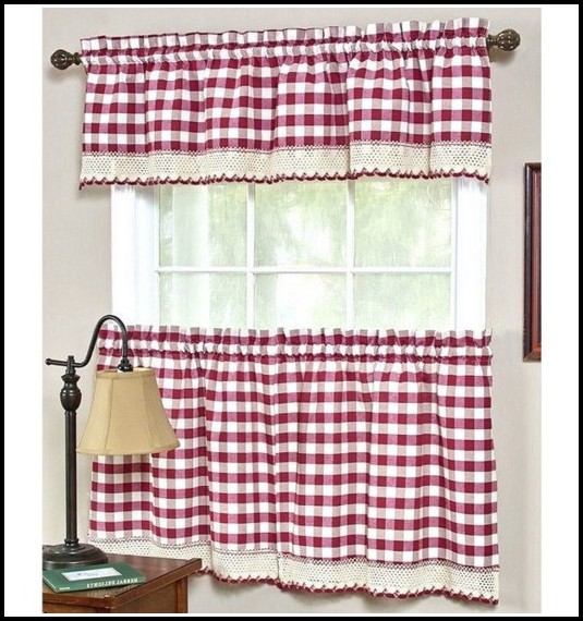 Red And White Curtains Uk