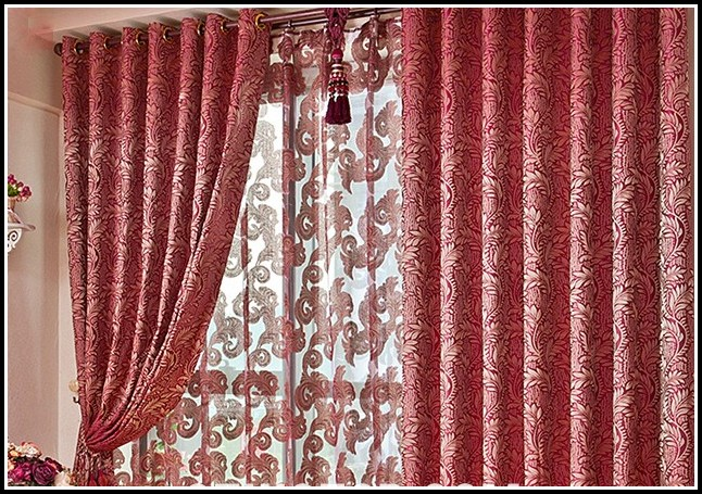 Red Living Room Curtains Uk