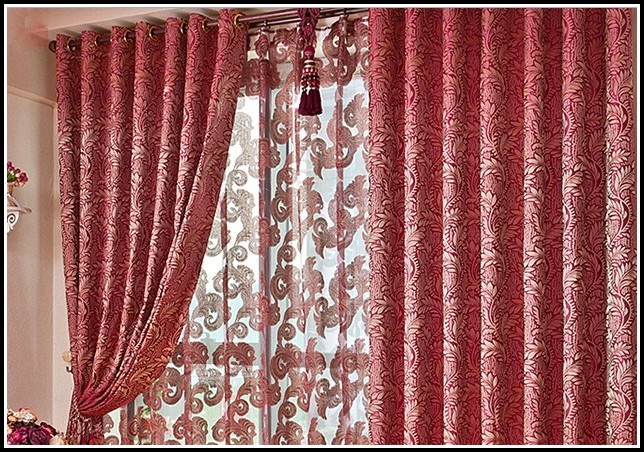 Red Polka Dot Blackout Curtains