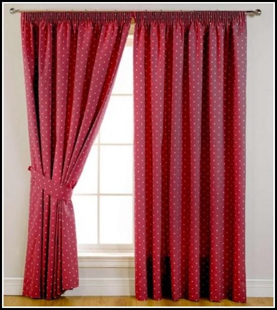 Red Polka Dot Curtains Uk