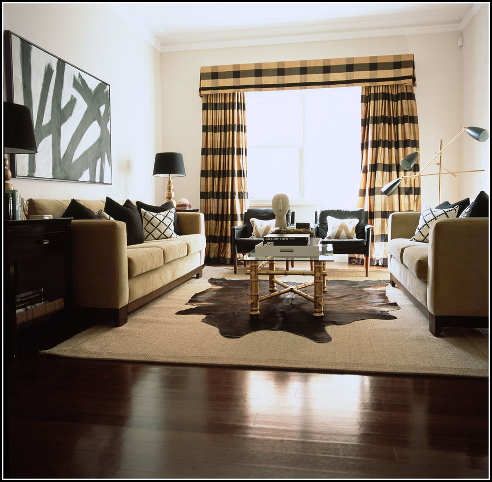Ritz Brown And Black Curtains