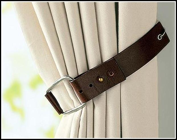 Rustic Curtain Tie Back Ideas