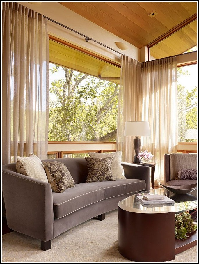 Sheer Curtains For Picture Windows