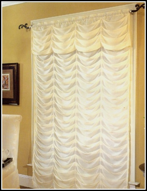 Sheer Priscilla Curtains With Attached Valance