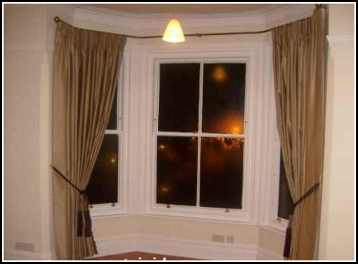 Short Curtain Rods For Large Windows