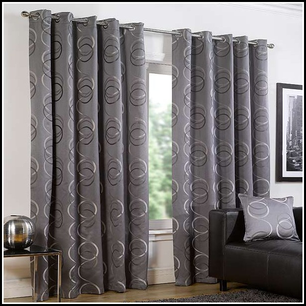 Silver And White Shower Curtains