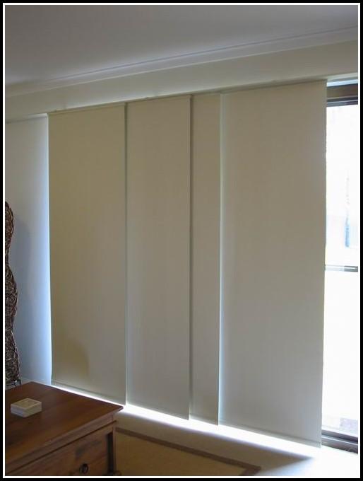 Sliding Door Curtain Panel Set