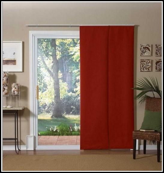 Sliding Door Curtain Rod Size