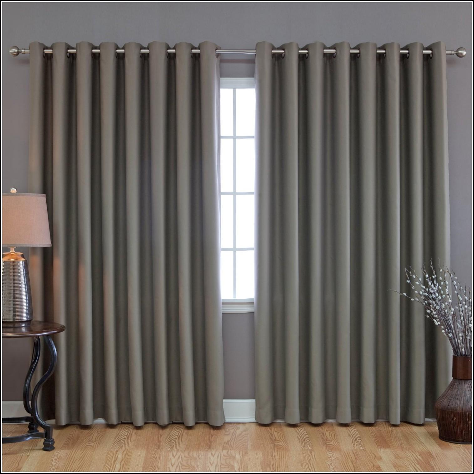 Sliding Door Double Curtain Rod