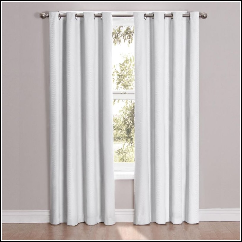 Solid Thermal Insulated 108 Inch Blackout Curtains