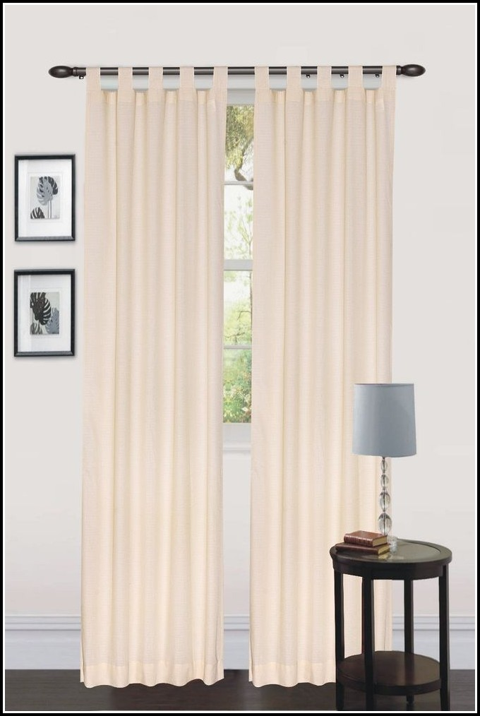 Tab Top Curtain Panels 84