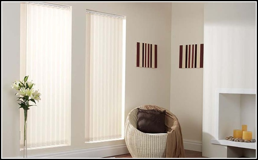 Vertical Blinds With Curtains Attached