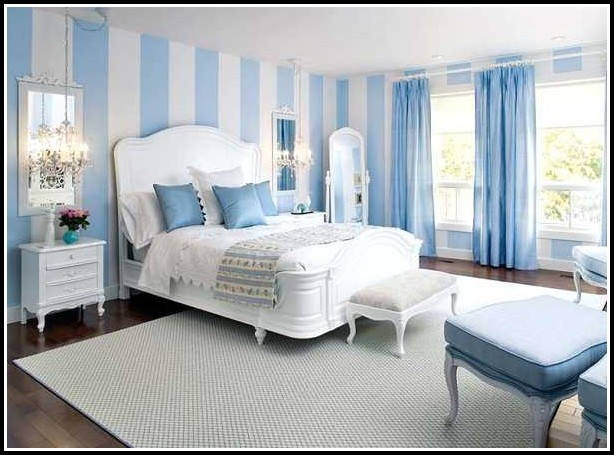 White And Blue Curtains Uk
