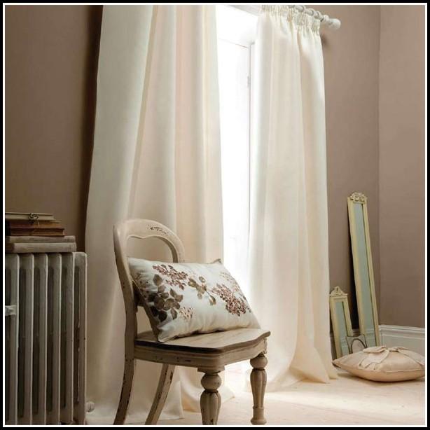 White Faux Silk Blackout Curtains
