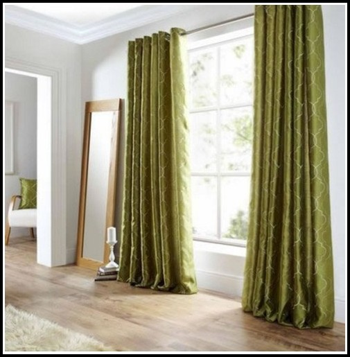 White Faux Silk Taffeta Curtains