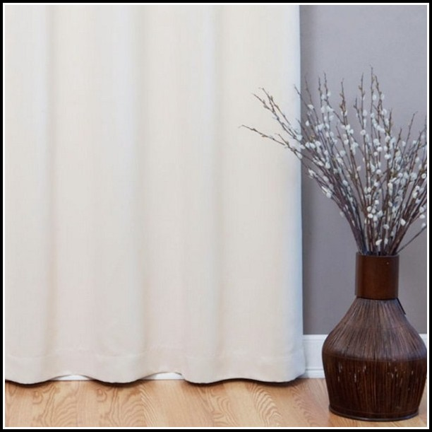 Wide Width Blackout Curtain Panels
