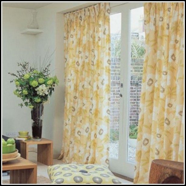 Yellow Drapes And Curtains