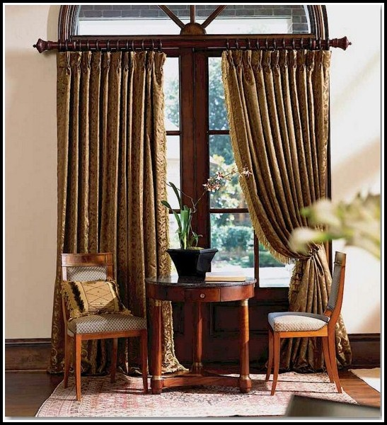 1 Inch Wooden Curtain Rods