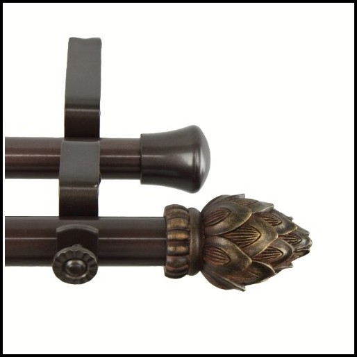 16 Inch Tension Curtain Rods