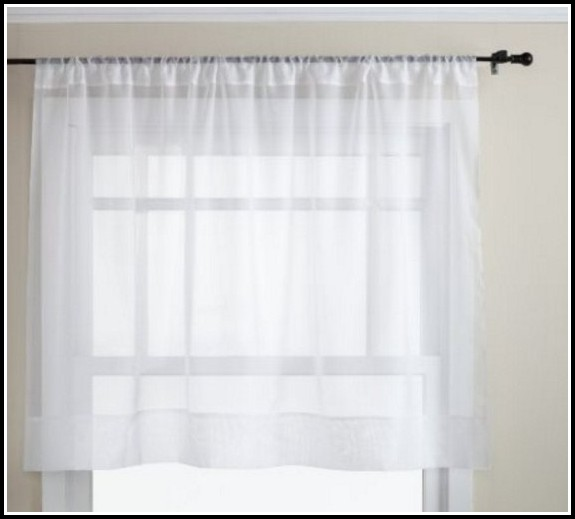 30 Inch Sheer Tier Curtains
