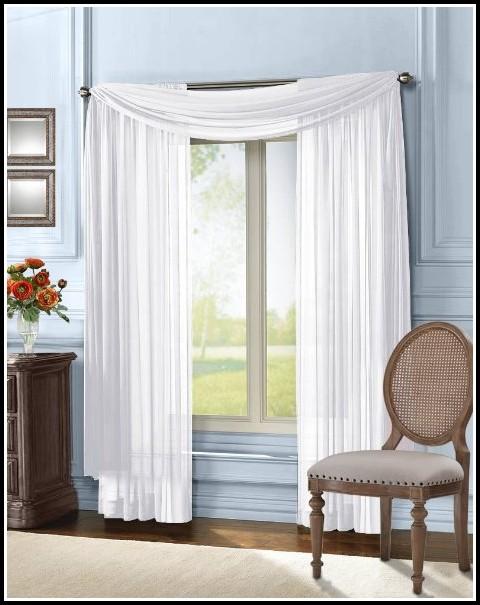 95 Inch Long Sheer Curtains