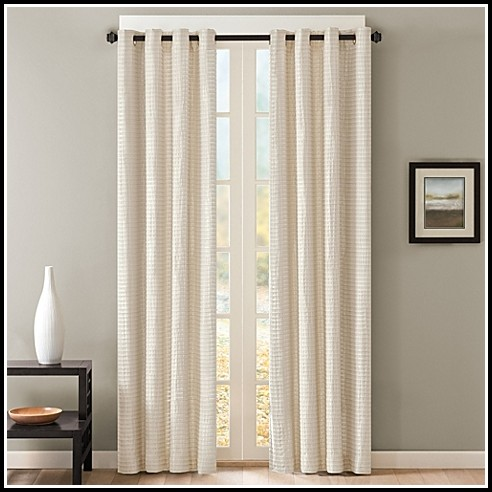 95 Inch White Thermal Curtains