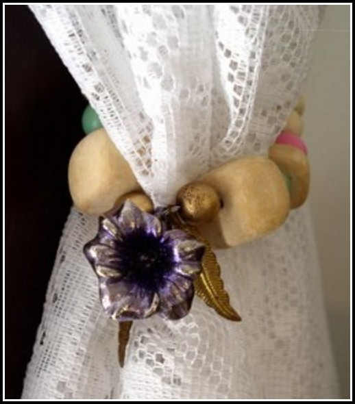 Antique Victorian Curtain Tie Backs