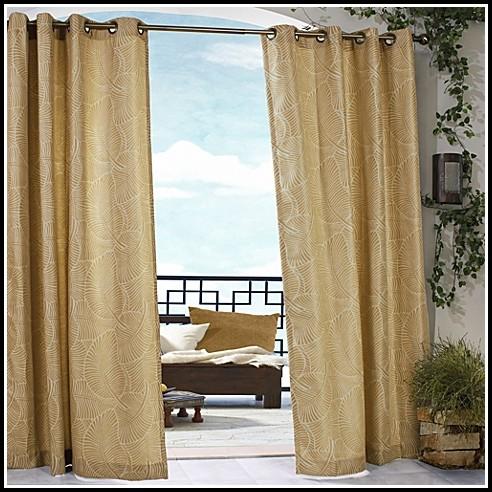 Belize Indoor Outdoor Grommet Curtain Panels