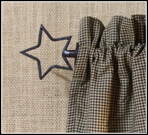 Black Iron Pipe Curtain Rods