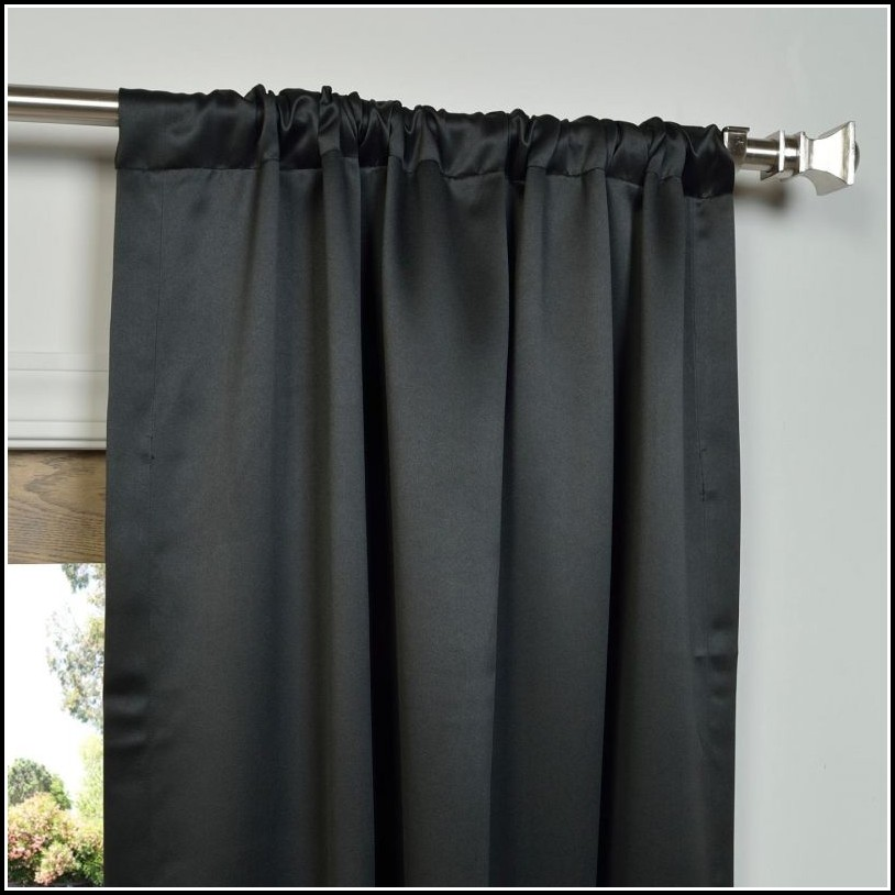 Blue Blackout Curtain Panels