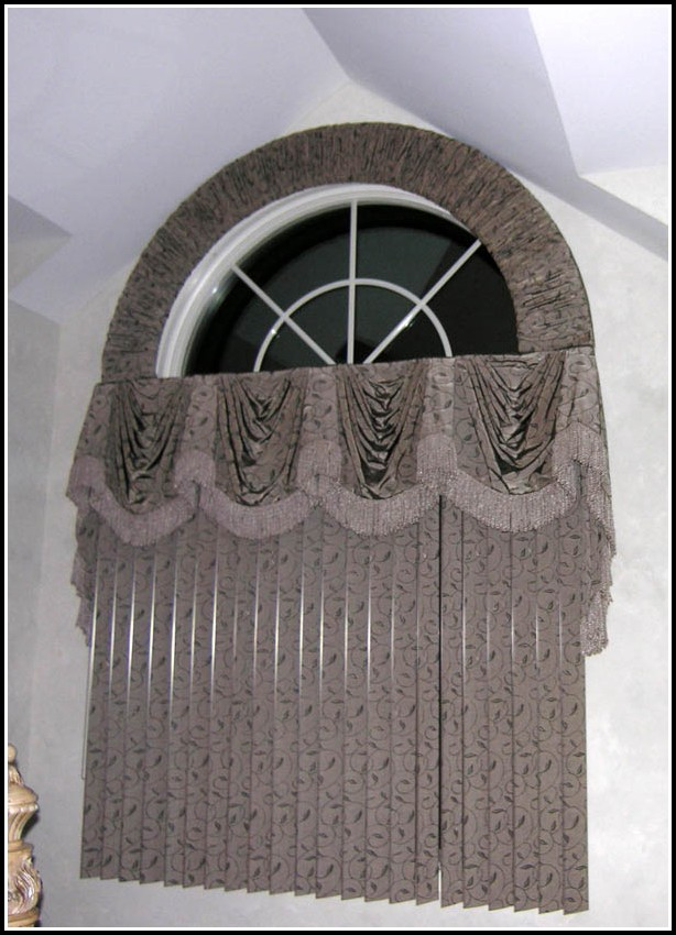 Bow Window Curved Curtain Rods