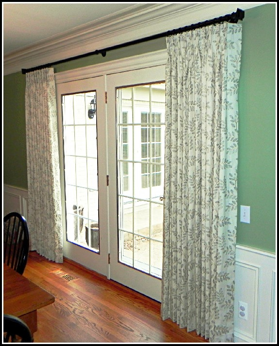 Cafe Curtain Rods For French Doors