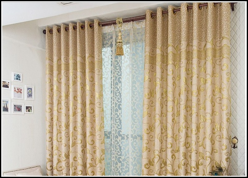 Can You Hang Grommet Curtains With Sheers