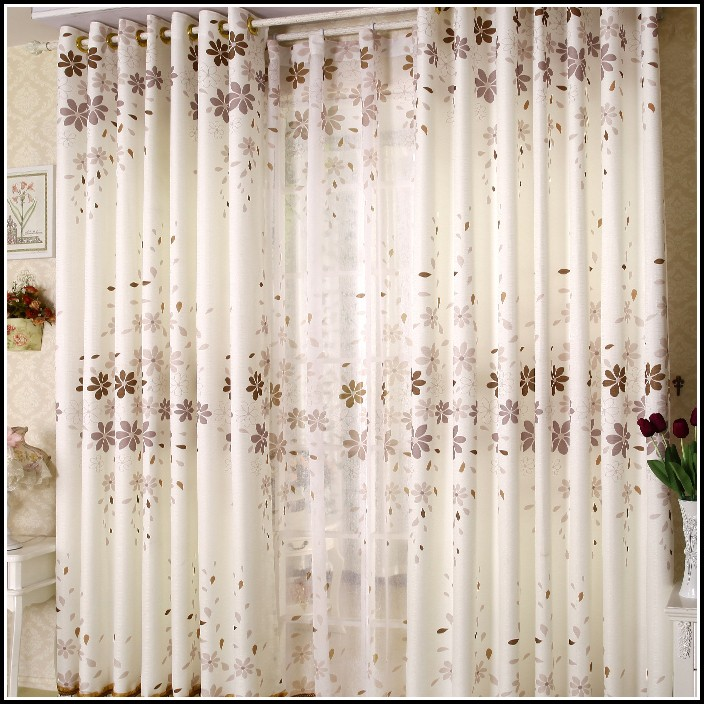 Country Style Curtains And Window Treatments