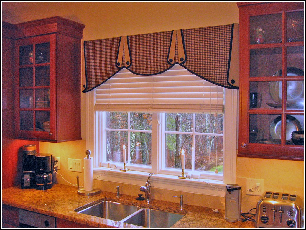Curtain Ideas For Kitchen Windows