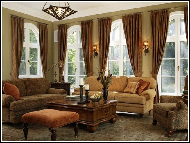 Curtain Ideas For Large Windows In Living Room