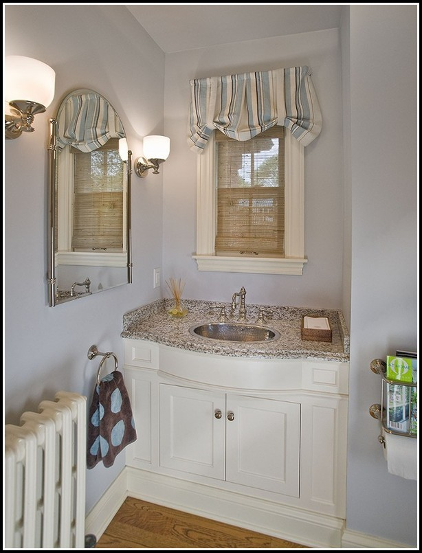 Curtain Ideas For Small Bathroom Windows