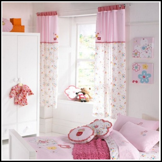 Curtain Rod For Baby Girl Room