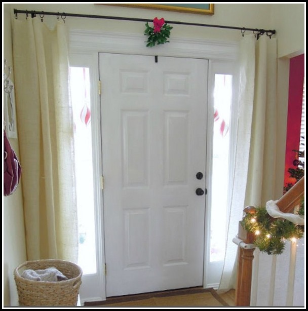 Curtains For Small Front Door Windows